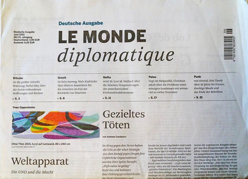 Le Monde diplomatique, Juni '15