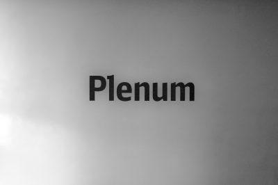 Plenum, Flur, DB-Turm, Frankfurt