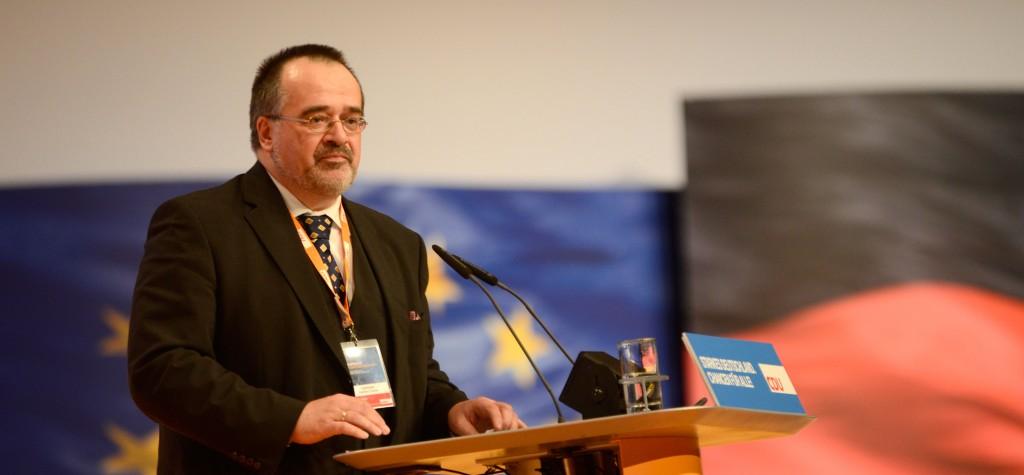 Dr. Matthias Zimmer auf dem Parteitag der CDU 2012. Foto: CDU/CSU-Bundestagsfraktion - CC BY-SA 3.0