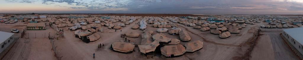Flüchtlingscamp Za'atari, Jordanien, im Herbst 2012. Foto: Photo Unit, CC BY-NC 2.0