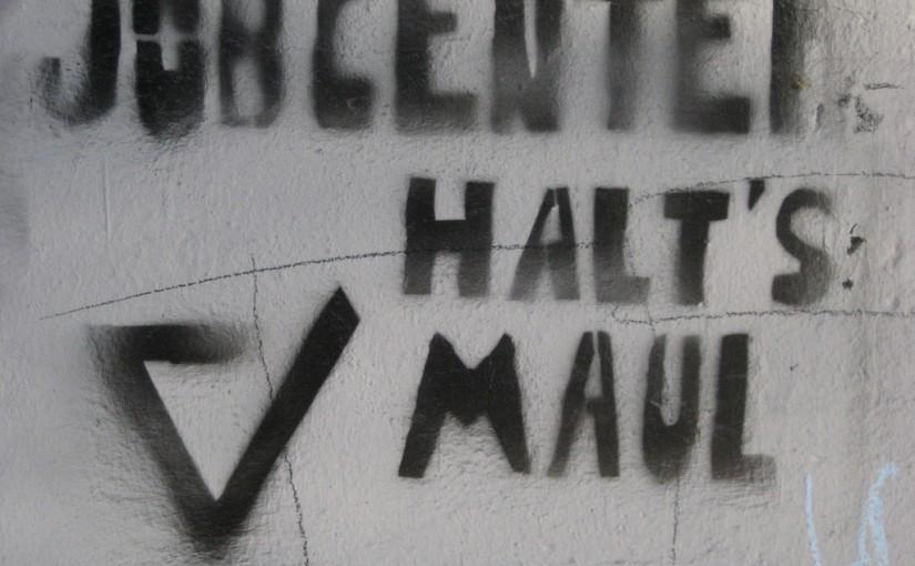 Jobcenter halt's Maul