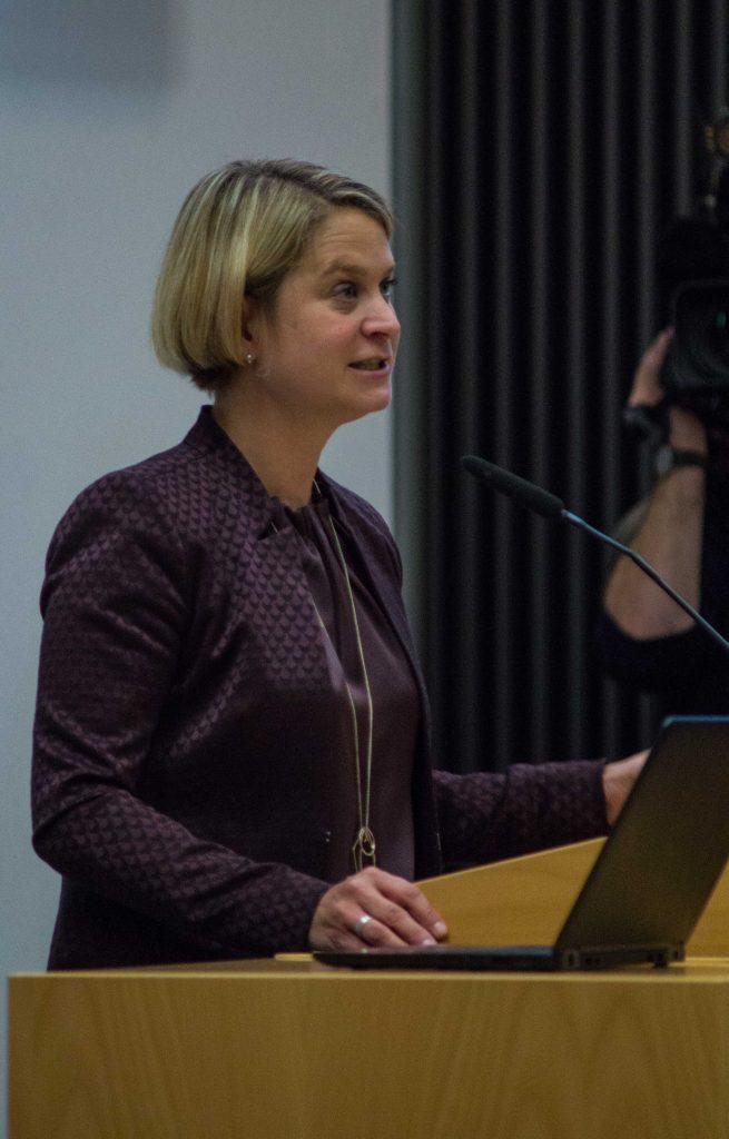 Bildungsministerin von Mecklenburg-Vorpommern Birgit Hesse (SPD)