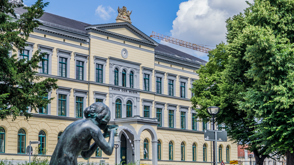 Alte Stadtschule, Haus der Musik, Rostock