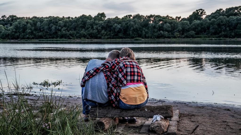 Paar am Lowat', Russland