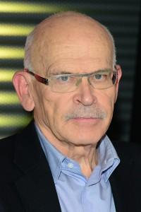 Günter Wallraff auf dem RTL-Spendenmarathon 2014 in Hürth bei Köln.