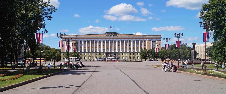Sophienplatz, Veliky Novgorod