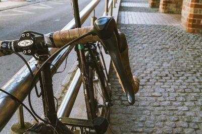 Rennrad, Altbettelmönch-Straße, Rostock