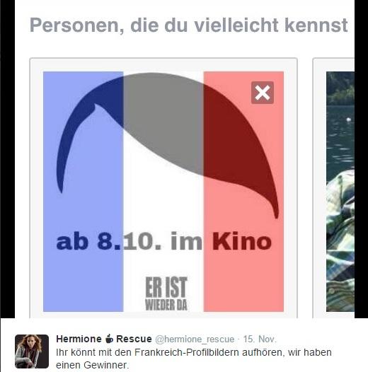Tweet vom 15.11.15. Quelle: Screenshot.