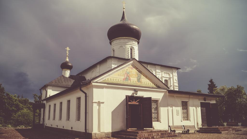 Kirche, St. Georg der Siegreiche, Staraja Russa
